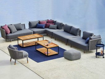 MOMENTS  sofa- & loungegruppe / havemøbler Cane-line