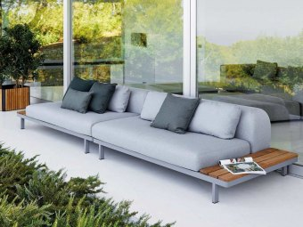 SPACE luksus  sofa- & loungegruppe / havemøbler Cane-line