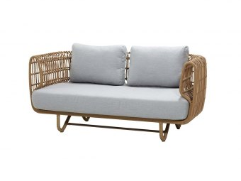 Cane-line: Nest 2-pers. sofa OUTDOOR