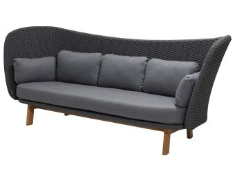 Cane-line: Peacock Wing 3-pers. sofa