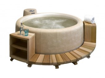 SOFTUB NEWPORT STEPPER Cedertræ - Til Legend, Resort og Portico