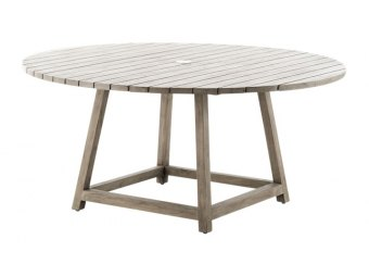 Sika Design - GEORGE 9442U + 9446U old-teak rundt havebord