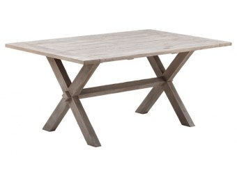 Sika Design - COLONIAL 9460U old- teak havebord 100x160cm