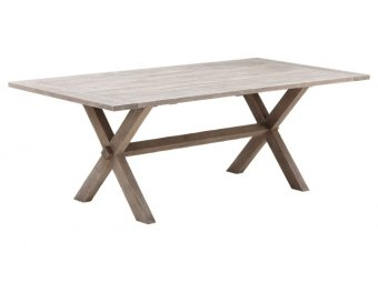 Sika Design - COLONIAL 9475U old-teak havebord 100x200cm