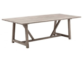 Sika Design - GEORGE 9440  old teak havebord 240 cm.