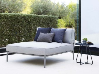 Cane-line: Conic Daybed modul, Cane-line AirTouch