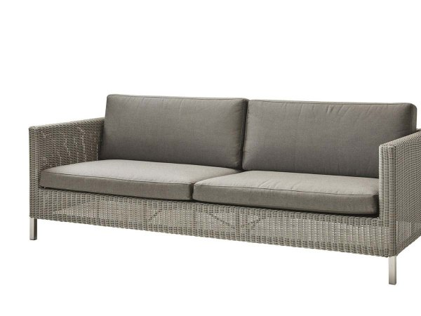 Cane-line: Connect 3-pers. sofa