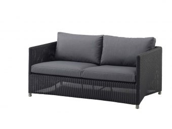 Cane-line: Diamond 2-pers. sofa, Weave
